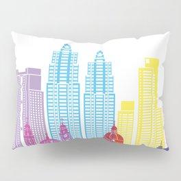 Buenos Aires V2 skyline pop Pillow Sham