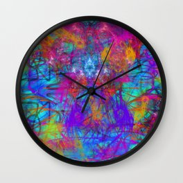 Abstract Energy 5 Wall Clock