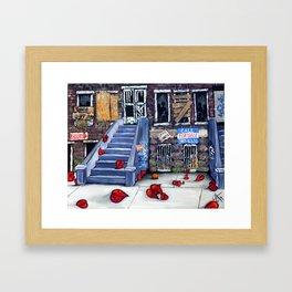 Broken Blvd Framed Art Print