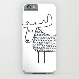 Moose iPhone Case