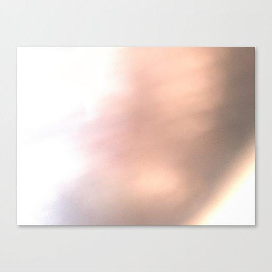 Pink Blur / Tones of P Canvas Print