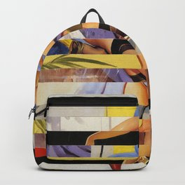 Glitch Pin-Up Redux: Courtney Backpack