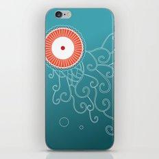 Jellyfish_tangle iPhone & iPod Skin