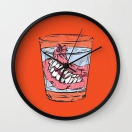 Old Vampire's Denture Wall Clock