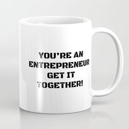 Motivation for the entrepreneur Coffee Mug