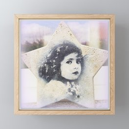 Nostalgic Star Framed Mini Art Print