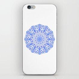 Mandala 12 / 4 eden spirit indigo blue iPhone Skin