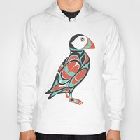 puffin Hoodies featuring Puffin by Siggi Odds