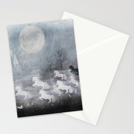 phantom horses Stationery Cards