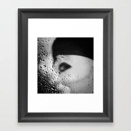 The Depth Of Self-Delusion Framed Art Print