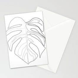 """""""Botanical Collection"""" -  Monstera Print Stationery Cards"""
