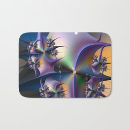 Abstract Upstairs Downstairs Balconies Bath Mat