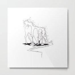Unicorn Falls Metal Print
