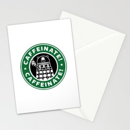 Dalek Caffeinate Stationery Cards