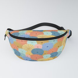 Coloful Sea Urchins 2 Fanny Pack