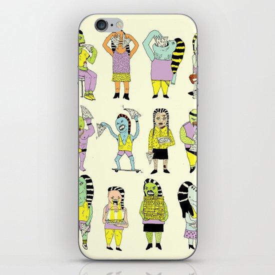 KIDS AND PIZZA iPhone & iPod Skin