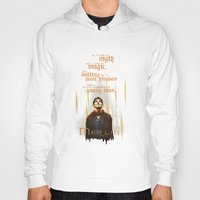 merlin Hoodies featuring Merlin: Myth and Magic by Past the Lamp Post