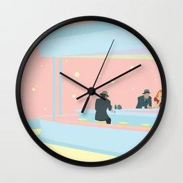 Nighttalks Wall Clock