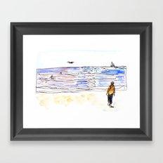 Beach Framed Art Print