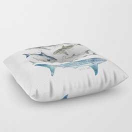 Sharks Floor Pillow