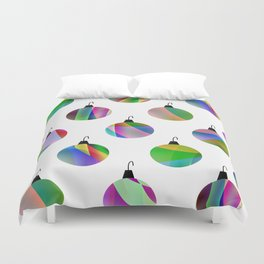 Christmas Tree Decoration Duvet Cover