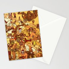 Some Guys Like it Rough Stationery Cards