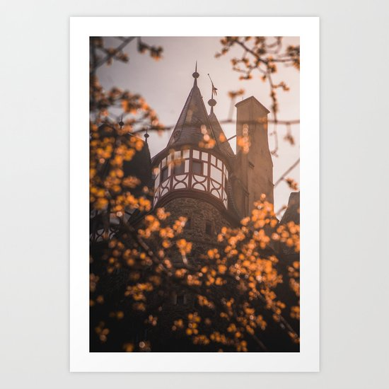 Castle in the Forest Art Print