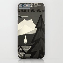 MEA Suisse oude poster iPhone Case