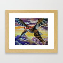 Cloudjumper, Dragon, Fanart Framed Art Print