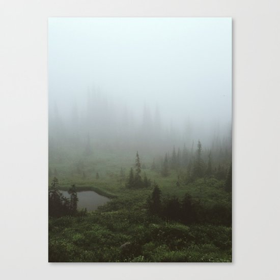 Fogland Canvas Print