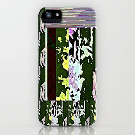Rose Collage 168 iPhone Case