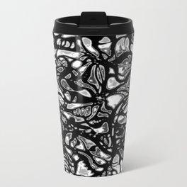 Structured Nothingness Metal Travel Mug