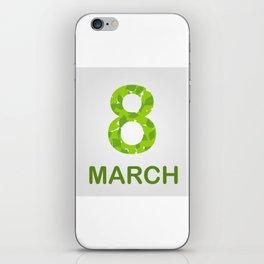 International Women's Day - March 8 iPhone Skin