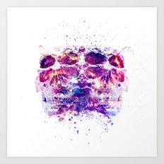 The 4i Skull Universe Art Print
