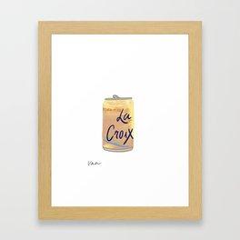 CROIX Framed Art Print