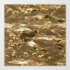 Gold Metal Canvas Print