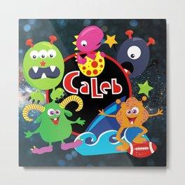 C-Monsta for Caleb Metal Print
