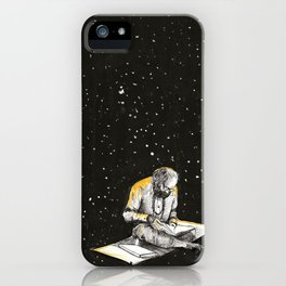 Allen Ginsberg in the sky iPhone Case