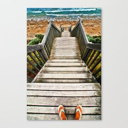Steps Canvas Print