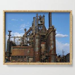 Bethlehem Steel Blast Furnaces Serving Tray