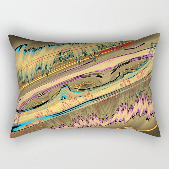 rocks III Rectangular Pillow
