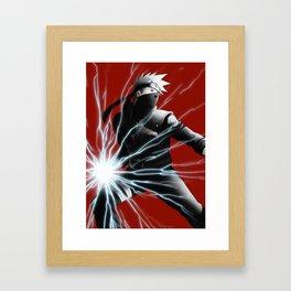 hatake kakashi Framed Art Print