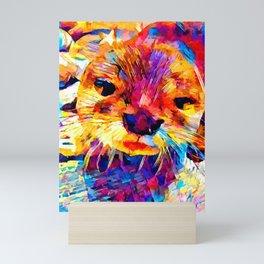 Otter Mini Art Print