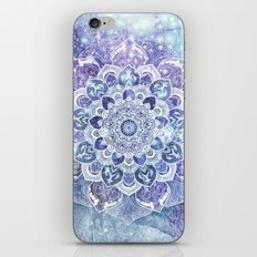 FREE YOUR MIND in Blue iPhone Skin