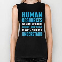 HUMAN RESOURCES Biker Tank
