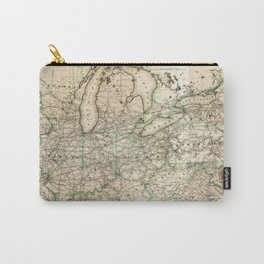 Map of the Pennsylvania Railroad (1871) Carry-All Pouch