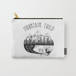Mountain Child  Carry-All Pouch