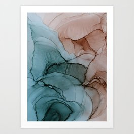 Earthy Mood Art Print