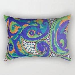 PAISLEY SWIRLS Rectangular Pillow
