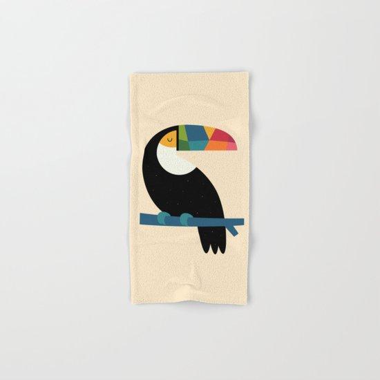 Rainbow Toucan Hand & Bath Towel